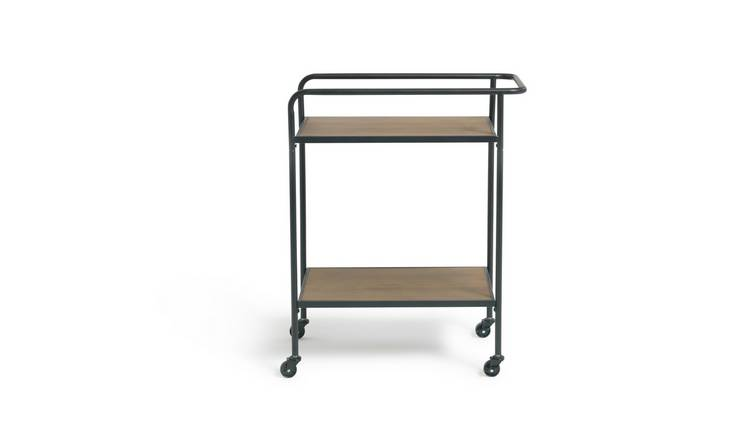 Habitat Metal and Wood Tea Trolley