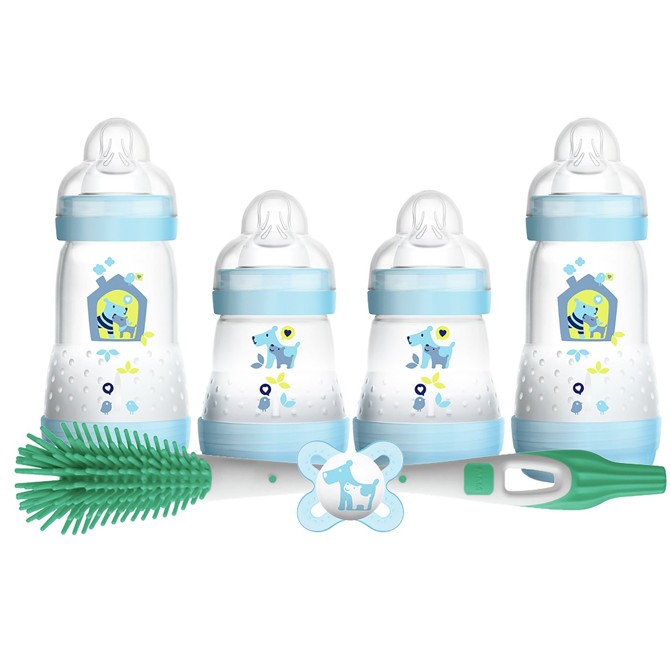 MAM Easy Start Anti-Colic Bottles - Blue