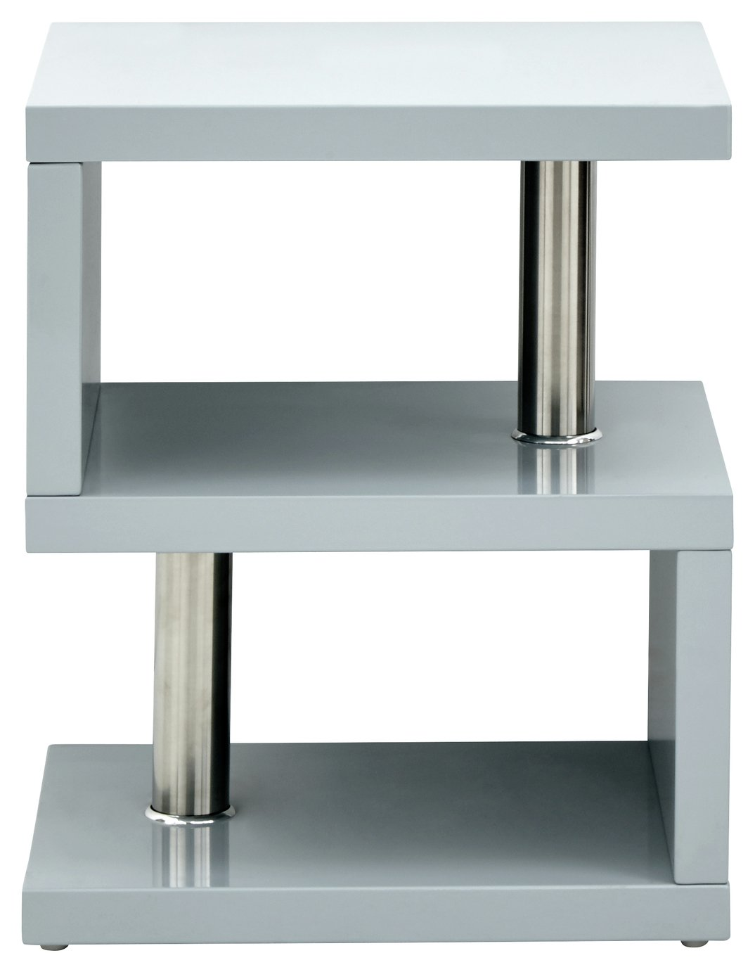 Polar Side Table - Grey Gloss