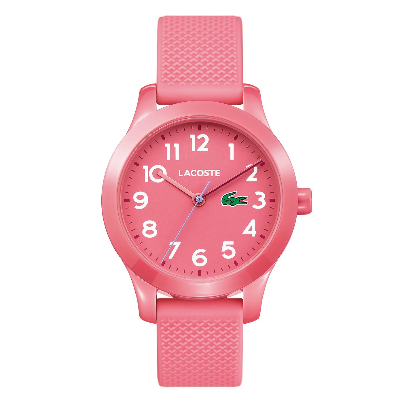 Lacoste  Pink Silicone Strap Watch
