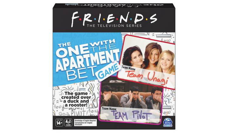 Friends The One with the Apartment Bet Trivia Game