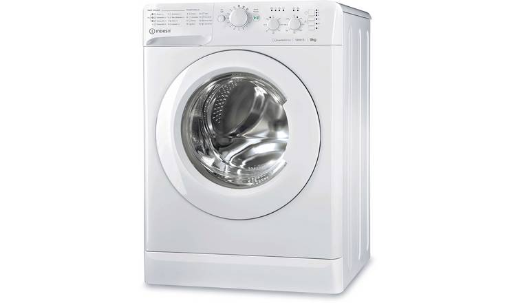 Indesit MTWC91283W ECO 9KG 1200 Spin Washing Machine - White