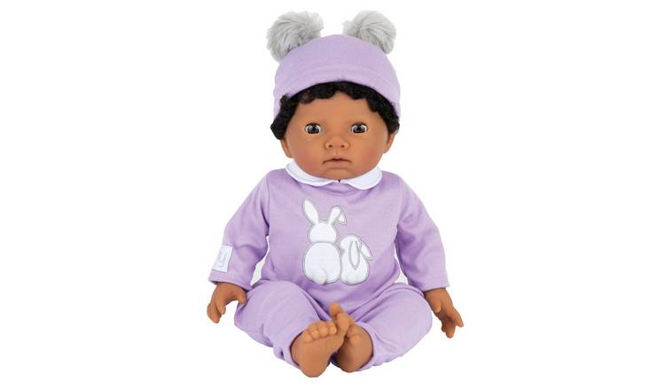 Tiny Treasures Doll with Purple Outfit