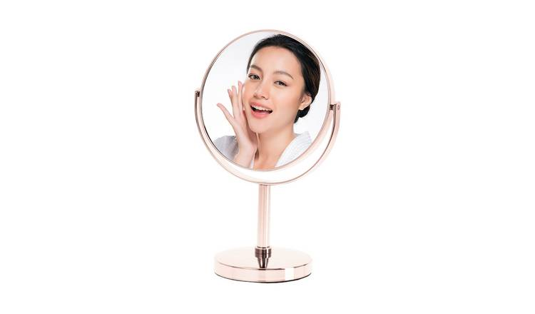 Danielle Creations Rose Gold Beauty Mirror
