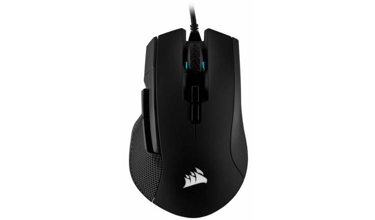 Corsair Ironclaw RGB Wired Gaming Mouse - Black