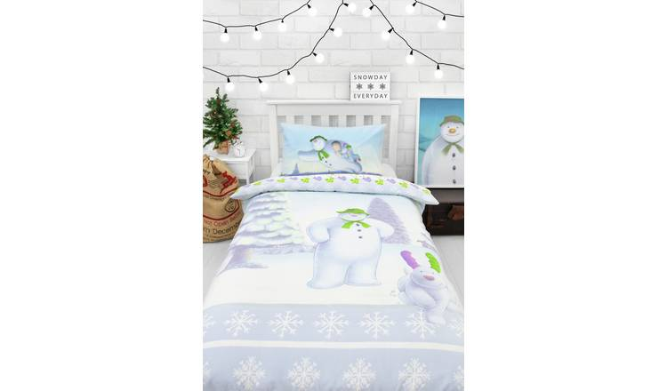 The Snowman and the Snowdog Bedding Set - Single