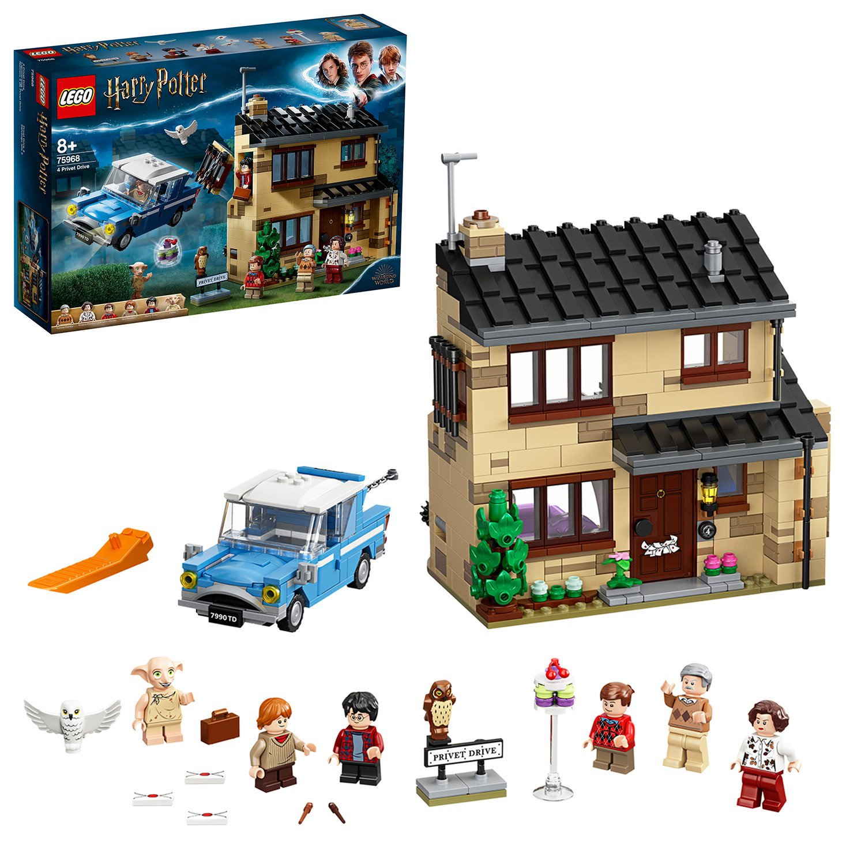 LEGO Harry Potter 4 Privet Drive House Set - 75968