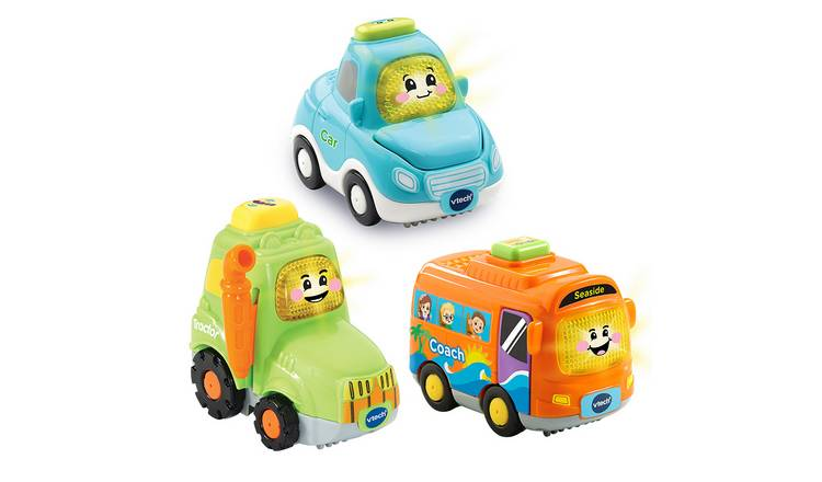VTech Toot-Toot Drivers 3 Pack of Everyday Vehicles