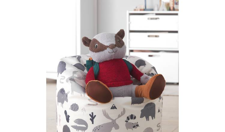 Large Ben the Badger Soft Toy