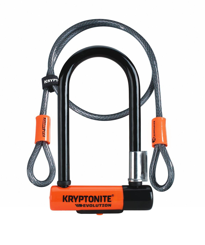 Kryptonite Evolution Cable and D Bike Lock - 1.2m