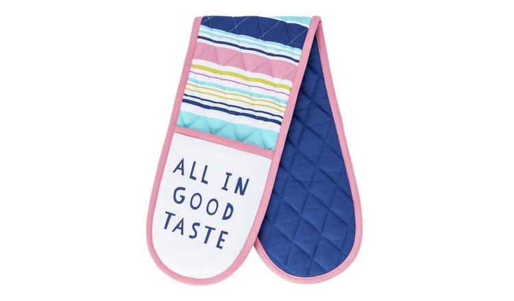 Argos Home Brights Double Oven Gloves