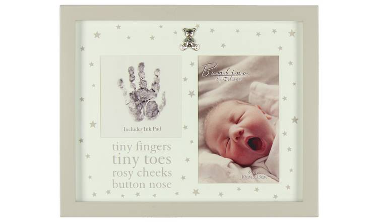 Bambino Hand Print & Photo Frame