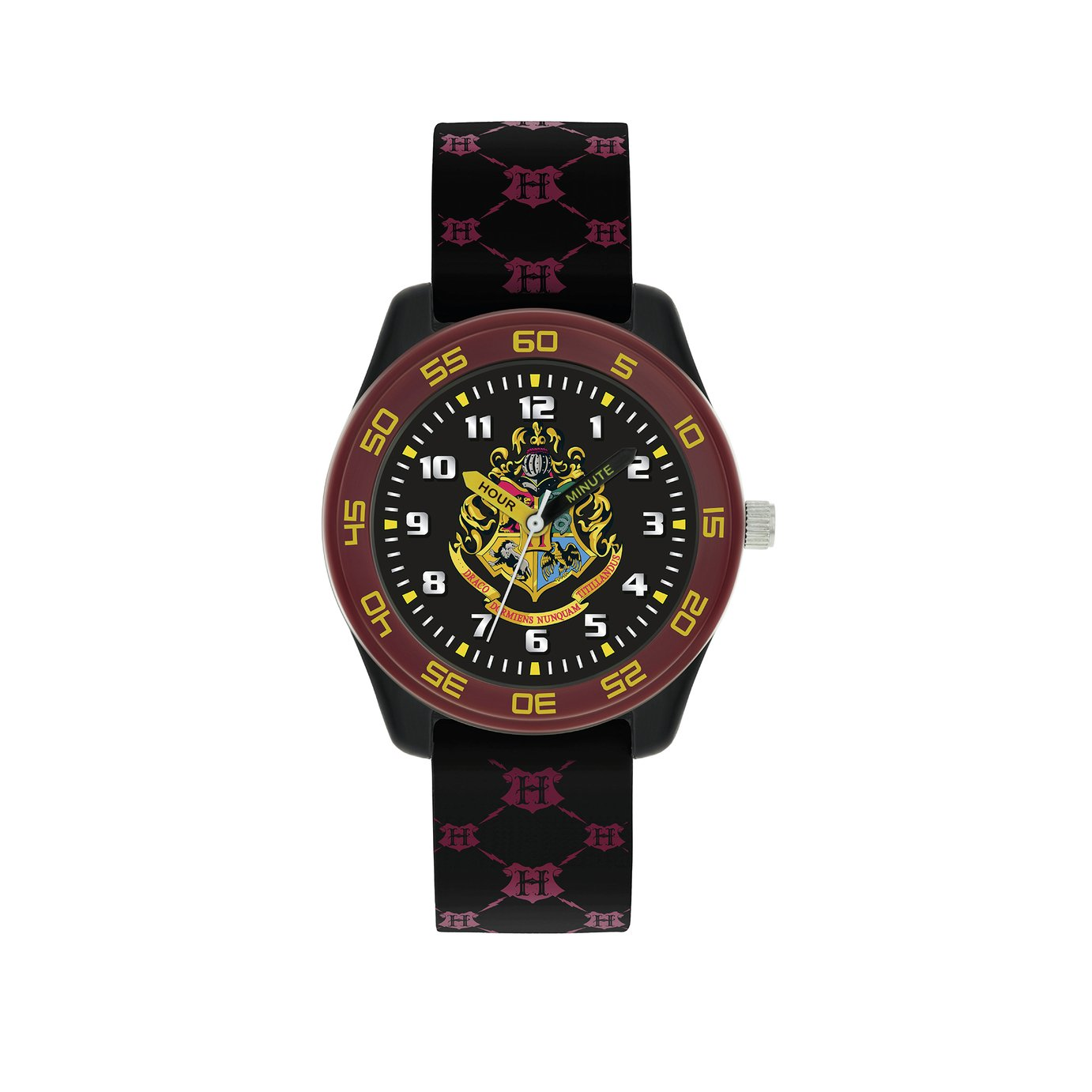 Harry Potter Unisex Multicoloured Silicone Strap Watch