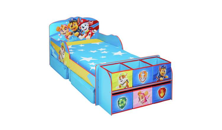 Paw Patrol Toddler Bed Cube & Mattress