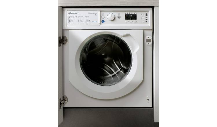Buy Indesit BIWMIL81284 8KG 1200 Spin Washing Machine ...
