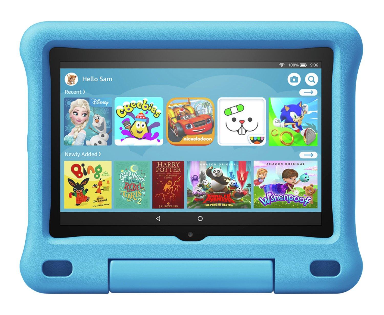 Amazon Fire HD 8 Kids 8in 32GB Tablet & Kid-Proof Case Blue