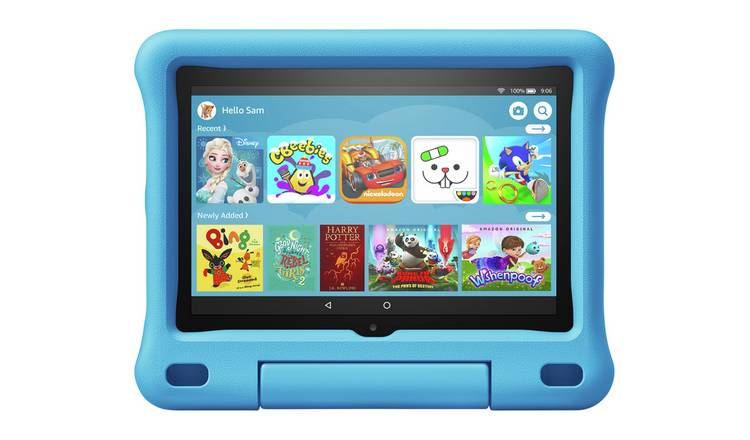 Amazon Fire HD 8 Inch 32GB Kids Edition Tablet & Case - Blue