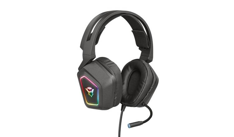 Buy Trust GXT 450 Blizz PC Headset Black | Laptop and PC headsets | Argos