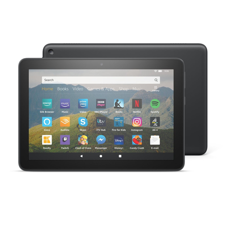 Amazon Fire HD 8 Inch 32GB Tablet - Black