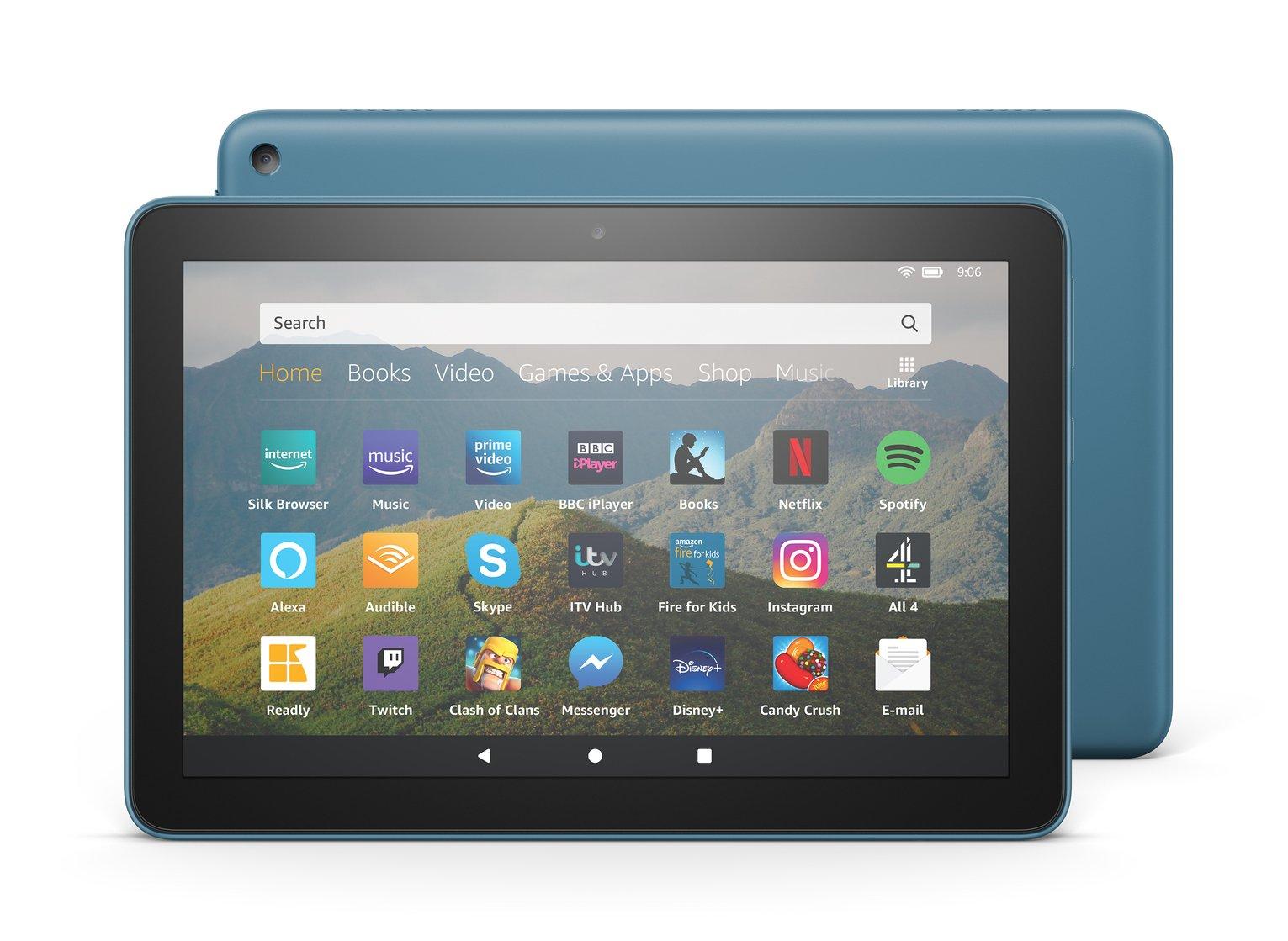Amazon Fire HD 8 Inch 32GB Tablet - Twilight Blue
