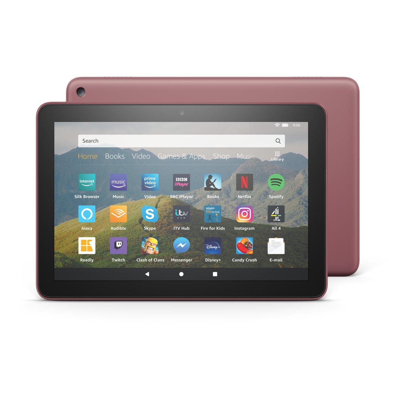 Amazon Fire HD 8 Inch 64GB Tablet - Plum