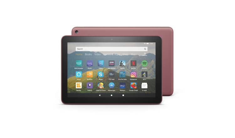 Amazon Fire HD 8 Inch 64GB Tablet - Plum