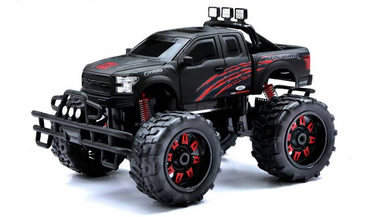 Raptor 1:10 Radio Controlled Truck - Black