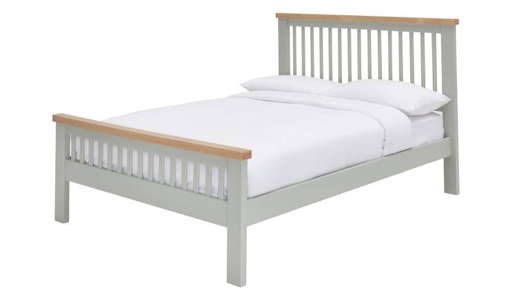 Argos Home Aubrey Double Bed Frame - Sage Green