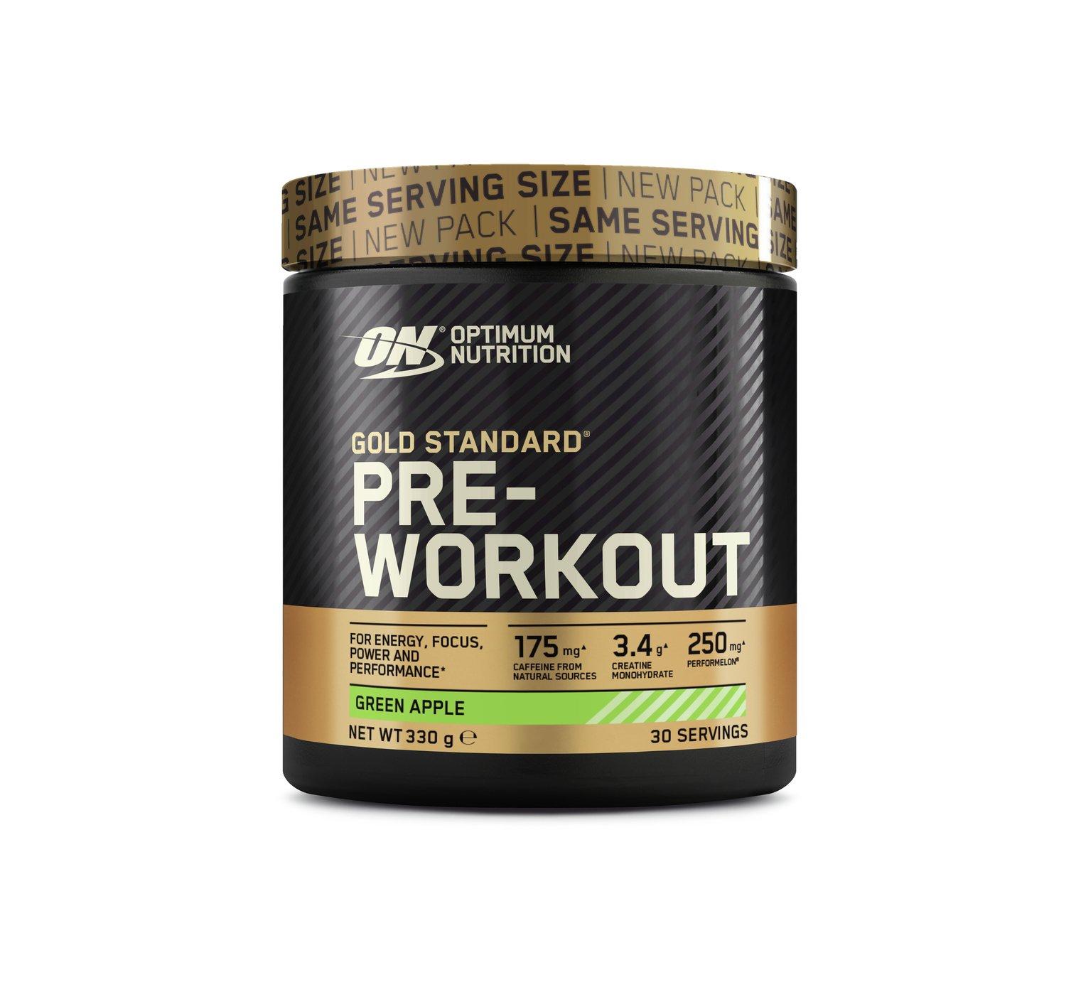 Optimum Nutrition Gold Standard Green Apple Pre Workout 330g