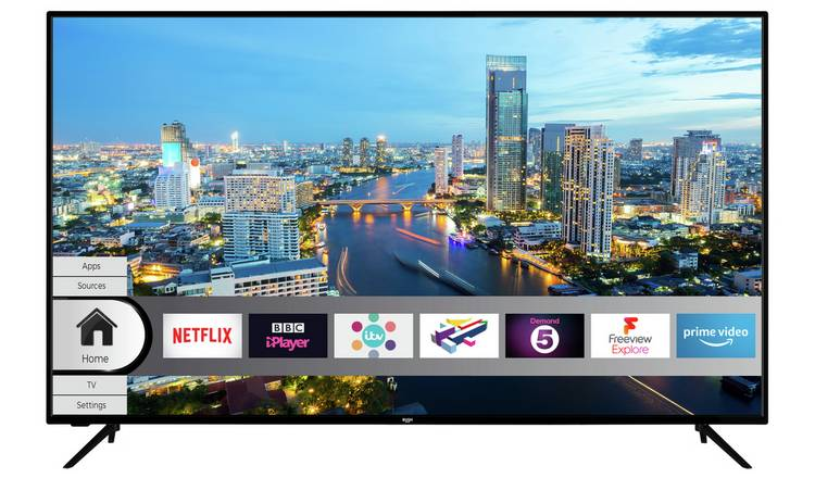 Bush 65 Inch Smart 4K UHD HDR LED Freeview TV