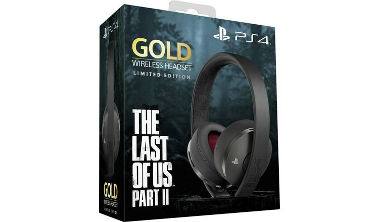 Sony Gold The Last of Us Part 2 Wireless PS4 Headset