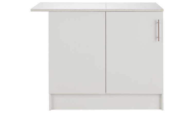 Argos Home Athina Fitted Kitchen Corner Base Unit - White
