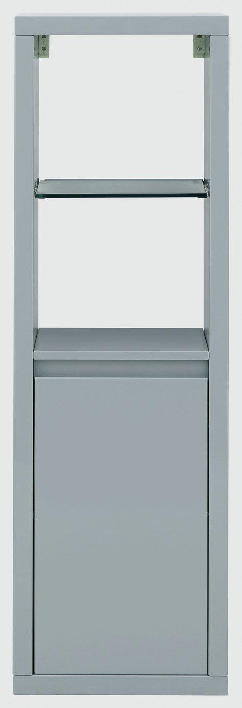 Polar Wall Mounted LED Display Unit - Grey