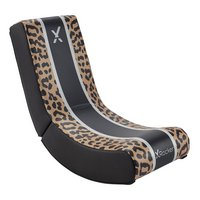 X Rocker Video Rocker Junior Gaming Chair - Leopard Print