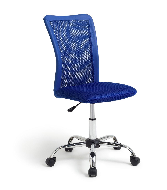 Habitat Reade Mesh Office Chair - Blue
