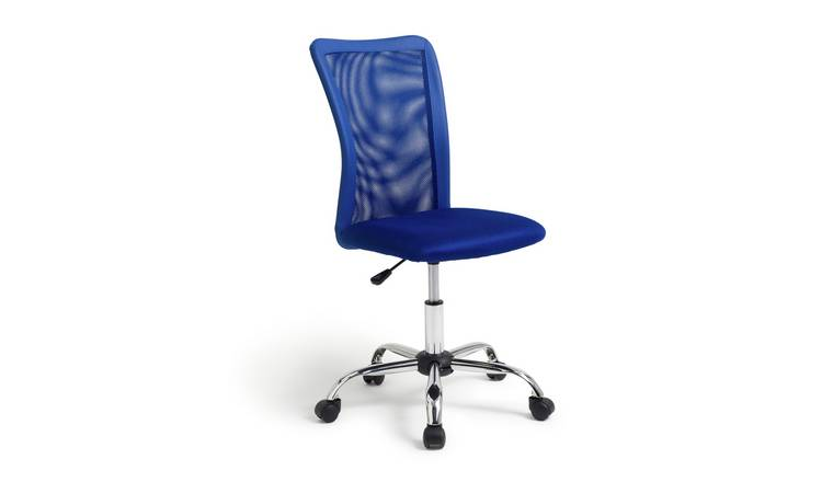 Habitat Reade Mesh Office Chair - Blue