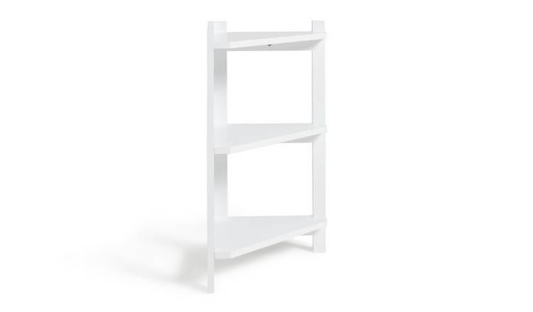 Argos Home 3 Tier Corner Unit - Two Tone