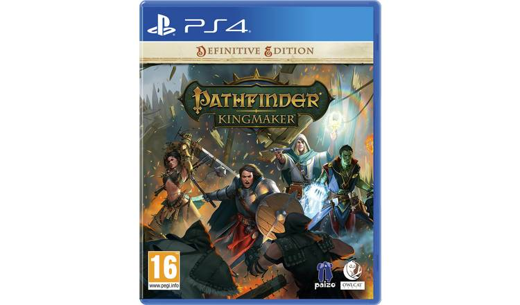 Pathfinder: Kingmaker Definitive Edition PS4 Game Pre-Order