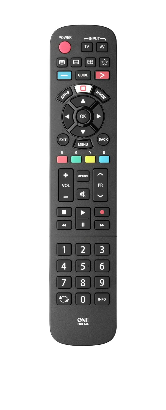 One For All URC4914 Panasonic TV Replacement Remote