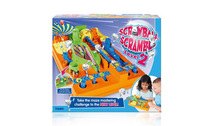 Tomy Screwball Scramble 2 Game