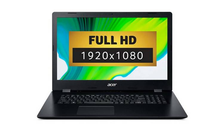 Acer Aspire 3 17in i5 8GB 1TB SSD FHD Laptop - Black