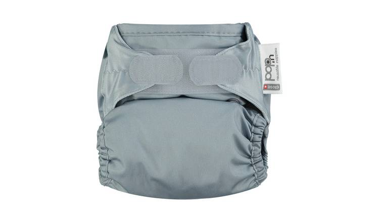 Pop-in Reusable Nappy - Slate