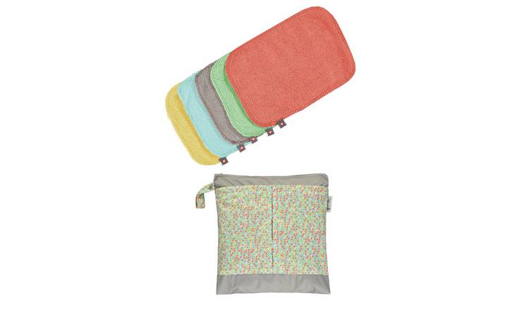 Pop-in Bamboo Reusable Wipes - Pastels