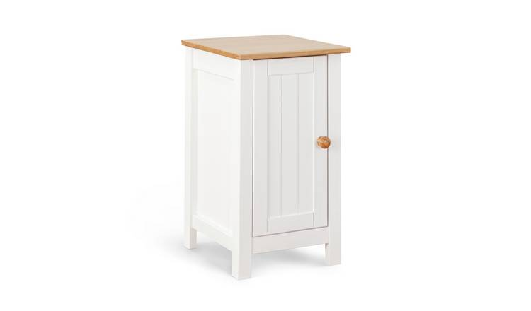 Habitat Scandinavia Slim Bedside Table - Two Tone