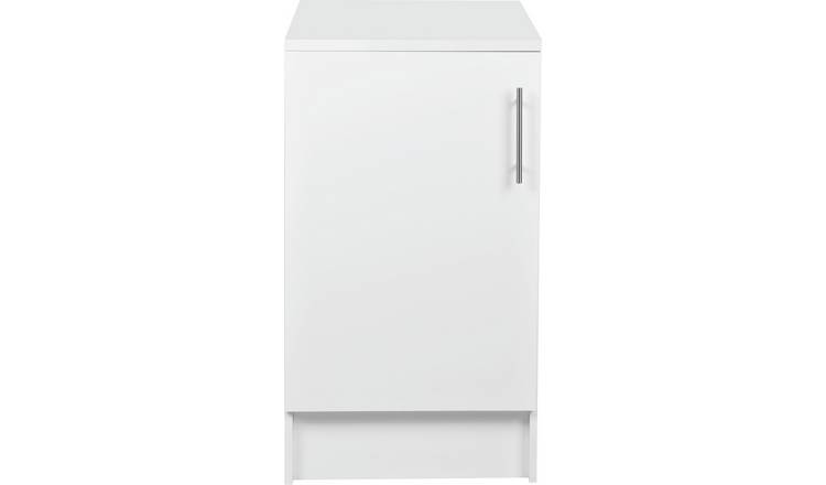 Argos Home Athina 500mm Fitted Kitchen Base Unit - White