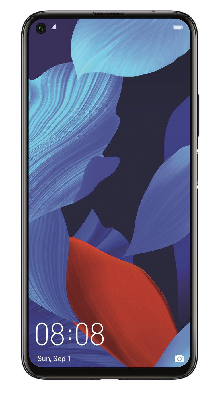 SIM Free Huawei Nova 5T 128GB Mobile Phone - Black