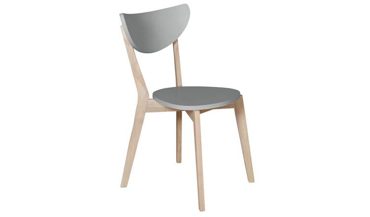 Habitat Harlow Stackable Dining Chair - Grey