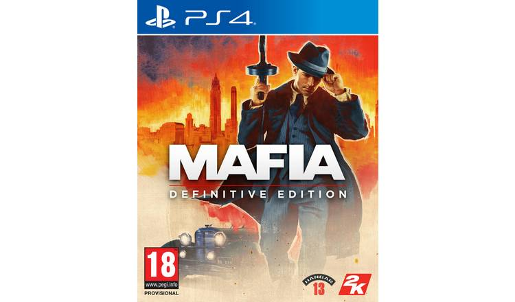 Mafia Definitive Edition PS4 Game Pre-Order