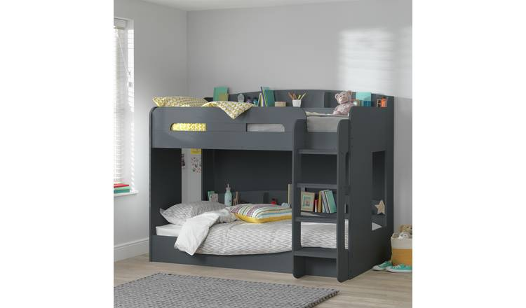 Argos Home Ultimate Bunk Bed Frame - Grey