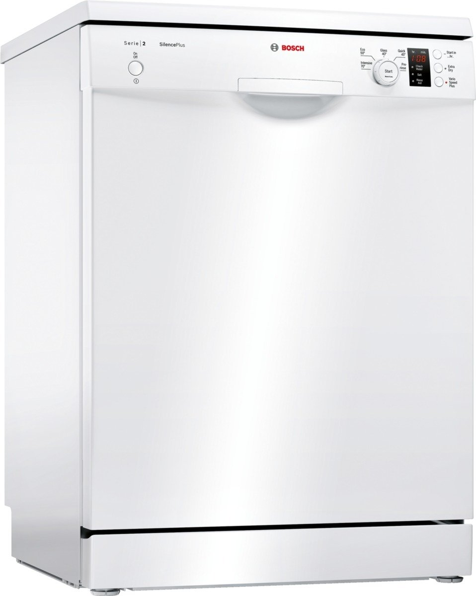 Bosch SMS25EW00G Full Size Dishwasher - White
